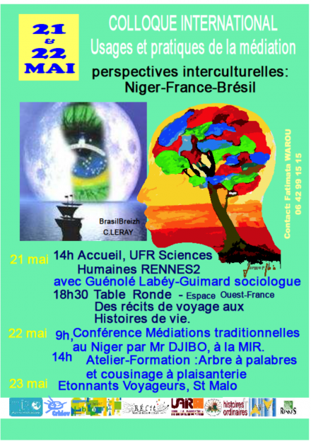 Colloque international RENNES les 21, 22 et 23 mai 2015 - A S I H V I F